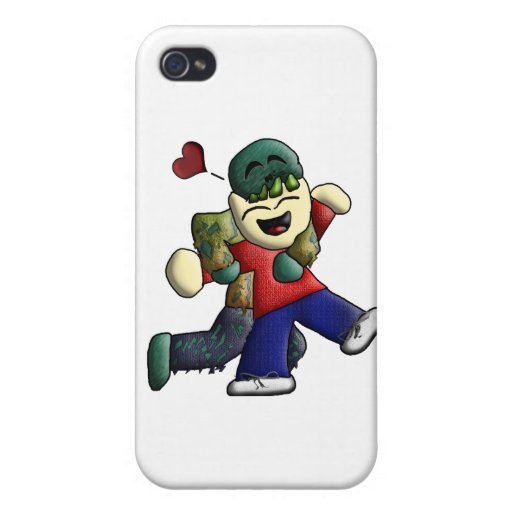 NOMbie Gear iPhone 4 Case