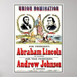 Nombramiento de la unión - poster póster