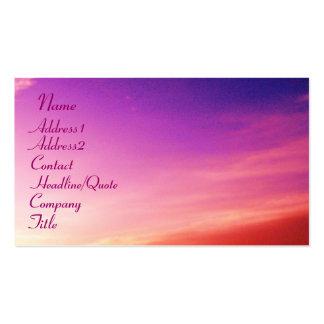 Nombre, Address1, Address2, contacto,… Tarjetas De Visita
