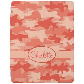 Nombre anaranjado del camuflaje de Camo Cover De iPad