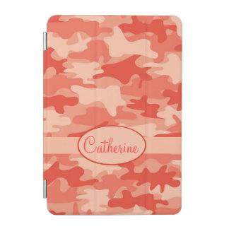 Nombre anaranjado del camuflaje de Camo Cover De iPad Mini