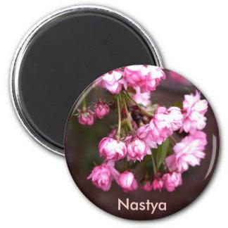 Nombre: Anastasiya/Nastya Imán Redondo 5 Cm