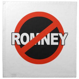 Nombre anti de Romney - .png Servilleta Imprimida