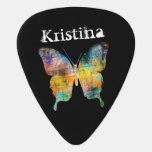 Nombre artístico del personalizado de la mariposa plectro