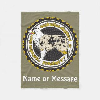 Nombre australiano del personalizado del pastor manta polar