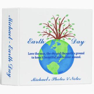 """Nombre azul del árbol del globo del poema del Día Carpeta 2"""""""