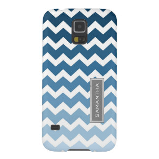 Nombre azul del personalizado de Samsung Ombre Che