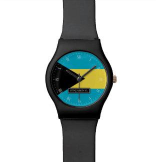 Nombre bahamés clásico del personalizado de la relojes