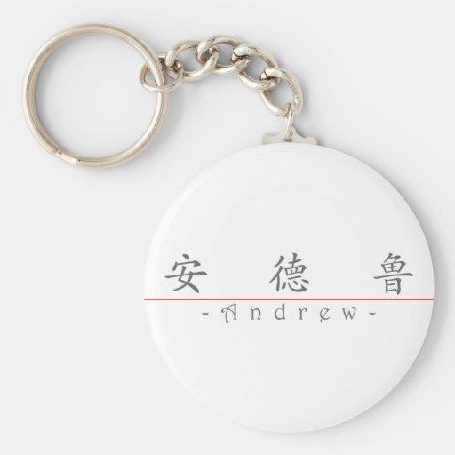 Nombre chino para Andrew 20415_1.pdf Llavero Redondo Tipo Pin