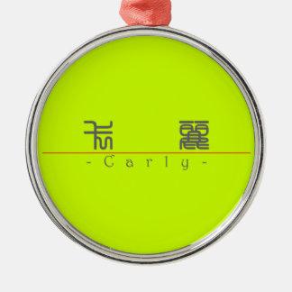 Nombre chino para Carly 21250_0 pdf Ornaments Para Arbol De Navidad