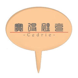 Nombre chino para Cedric 20504_0.pdf Decoración Para Tarta