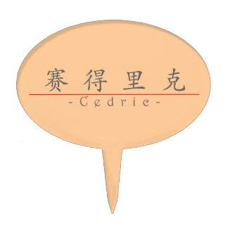Nombre chino para Cedric 20504_1.pdf Decoraciones De Tartas
