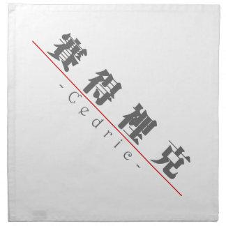 Nombre chino para Cedric 20504_3.pdf Servilletas Imprimidas