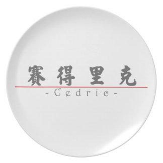 Nombre chino para Cedric 20504_4.pdf Platos De Comidas