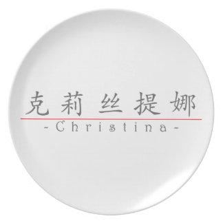 Nombre chino para Christina 21270_1 pdf Platos De Comidas