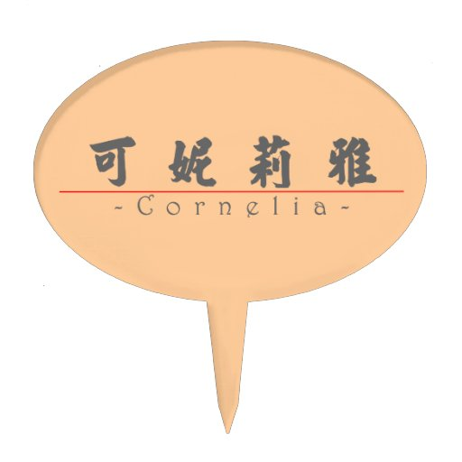 Nombre chino para Cornelia 20071_4.pdf Decoraciones Para Tartas
