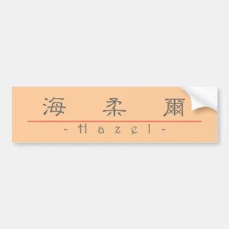 Nombre chino para el avellano 20145_2.pdf etiqueta de parachoque