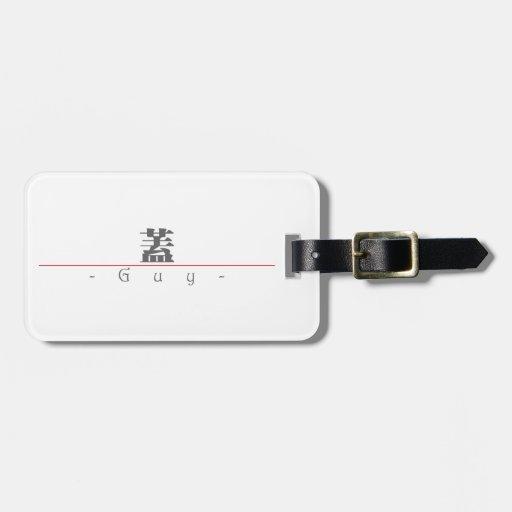 Nombre chino para el individuo 20611_3.pdf etiquetas para equipaje