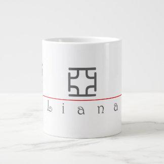 Nombre chino para el Liana 21463_0 pdf Taza Extra Grande