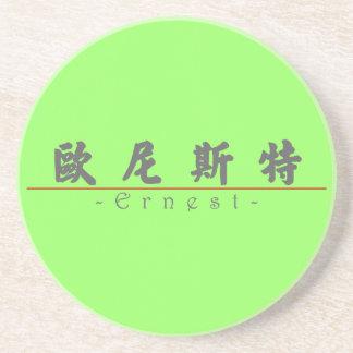 Nombre chino para Ernesto 20577_4 pdf Posavasos Personalizados