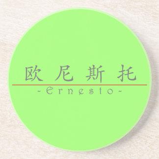 Nombre chino para Ernesto 22489_1 pdf Posavasos Manualidades