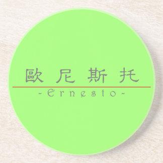 Nombre chino para Ernesto 22489_2 pdf Posavasos Diseño