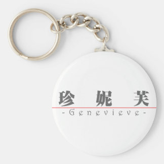 Nombre chino para Genevieve 20132_3.pdf Llavero Redondo Tipo Pin
