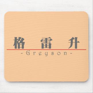 Nombre chino para Greyson 22199_3.pdf Tapete De Raton