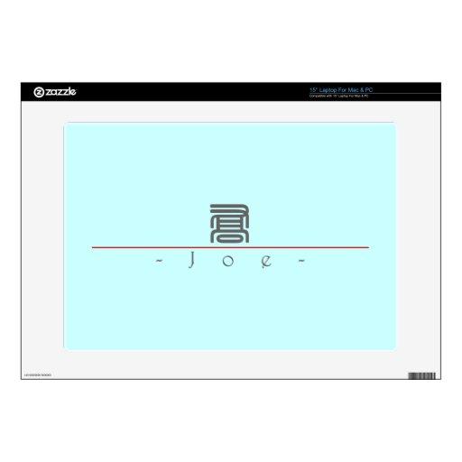 Nombre chino para Joe 20660_0.pdf Portátil Calcomanía