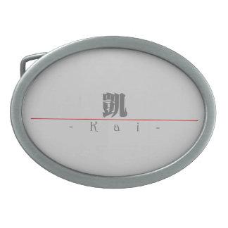 Nombre chino para Kai 22201_3.pdf Hebillas Cinturon Ovales