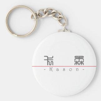 Nombre chino para Kason 22415_0.pdf Llavero Redondo Tipo Pin
