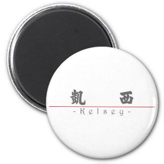 Nombre chino para Kelsey 21253_4.pdf Imán Redondo 5 Cm