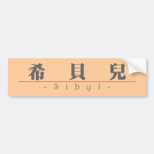 Nombre chino para la sibila 20330_3.pdf pegatina para auto