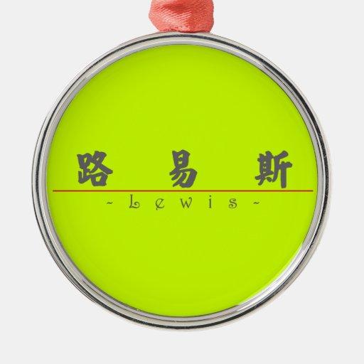 Nombre chino para Lewis 20696_4.pdf Ornamento De Reyes Magos