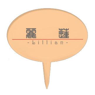 Nombre chino para Lillian 20208_0 pdf Figura Para Tarta
