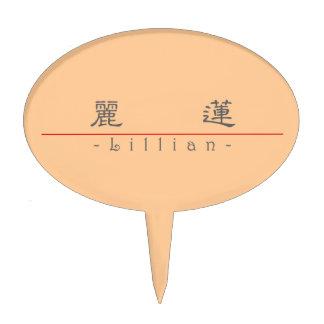 Nombre chino para Lillian 20208_2 pdf Figuras De Tarta
