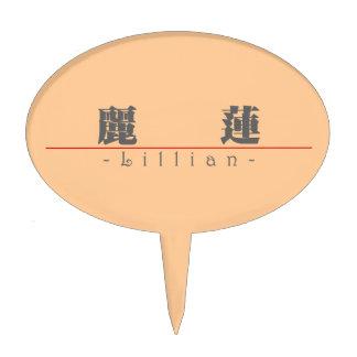 Nombre chino para Lillian 20208_3 pdf Figura De Tarta