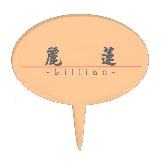 Nombre chino para Lillian 20208_4 pdf Decoración Para Tarta
