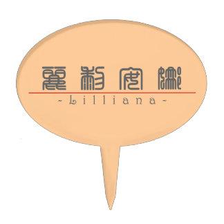 Nombre chino para Lilliana 21310_0 pdf Figura Para Tarta