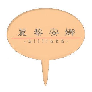 Nombre chino para Lilliana 21310_2 pdf Decoraciones De Tartas