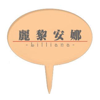 Nombre chino para Lilliana 21310_3 pdf Decoración De Tarta