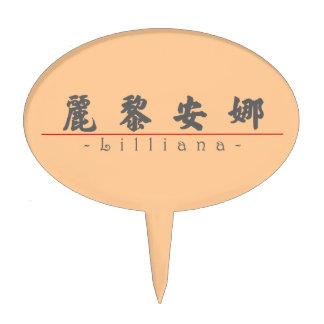 Nombre chino para Lilliana 21310_4 pdf Decoraciones De Tartas
