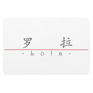 Nombre chino para Lola 21242_1 pdf Imanes Flexibles