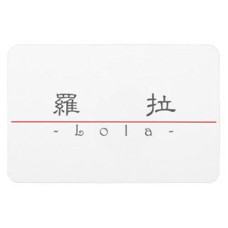 Nombre chino para Lola 21242_2 pdf Iman Rectangular