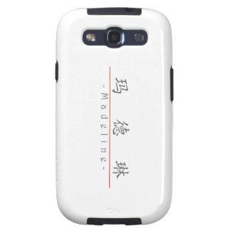 Nombre chino para Madeline 20219_1 pdf Samsung Galaxy S3 Funda