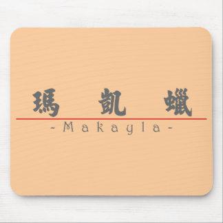Nombre chino para Makayla 21055_4.pdf Tapete De Ratones