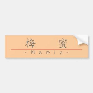Nombre chino para Mamie 20222_1 pdf Etiqueta De Parachoque