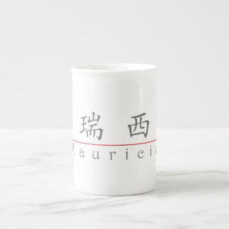 Nombre chino para Mauricio 22441_1 pdf Tazas De China