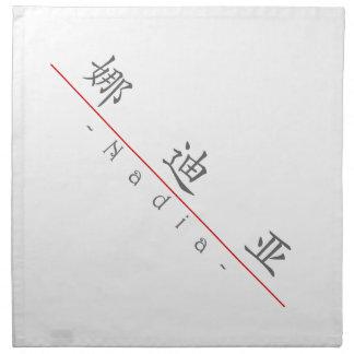 Nombre chino para Nadia 21268_1.pdf Servilletas Imprimidas