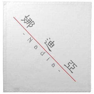 Nombre chino para Nadia 21268_2.pdf Servilletas Imprimidas